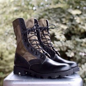 Shoes - New Deadstock Vintage Vietnam Jungle Combat Boots